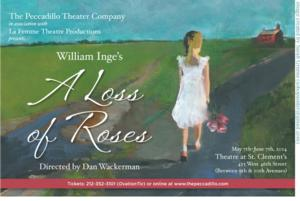 Peccadillo Theater Co. to Present William Inge's A LOSS OF ROSES, Begin. 5/7