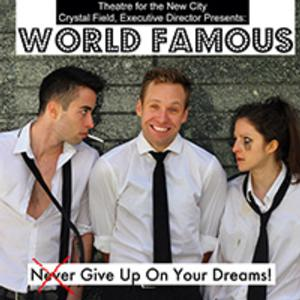 Tim Murray's WORLD FAMOUS to Premiere at Theatre for the New City, 5/14-18