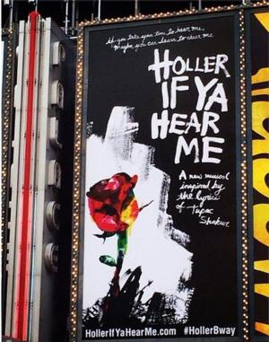 Tickets Go on Sale 4/7 for Broadway's Tupac Shakur Musical HOLLER IF YA HEAR ME