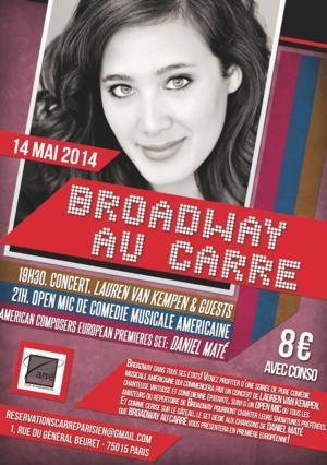 Broadway au Carre to Welcome Lauren Van Kempen & Daniel Mate, 5/14