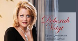Deborah Voigt Opens Her Season with Haiti Benefit in San Francisco October 2, Fall Schedule Announced