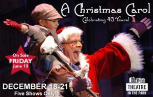 A CHRISTMAS CAROL to Play Durham Performing Arts Center, 12/18-21