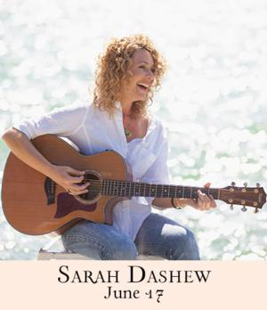 Sarah Dashew to Play 54 Below, 6/17