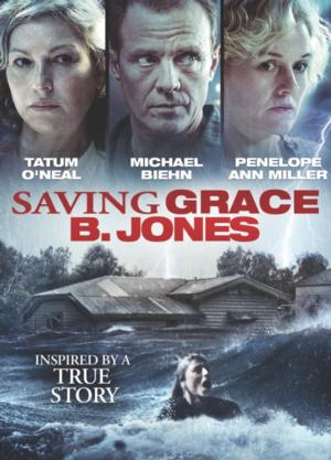 Thriller SAVING GRACE B. JONES, Starring Tatum O'Neal, Now on DVD