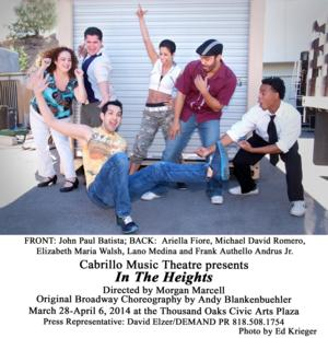 Cabrillo Music Theatre Presents IN THE HEIGHTS, 3/28-4/6