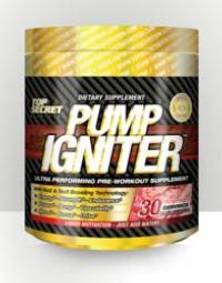 Top Secret Nutrition Announces PUMP IGNITER