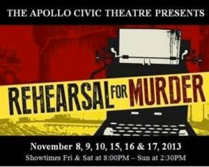 BWW Interviews: REHEARSAL FOR MURDER at Apollo Civic Theater is NOT Your Typical Murder Mystery