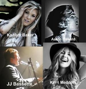 Kaitlyn Baker, JJ Bassette, Kerri Medders Perform at AMPLYFi Tonight