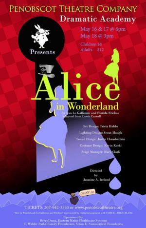 Penobscot Theatre Presents ALICE IN WONDERLAND This Weekend