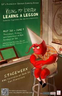 KILLING MY LOBSTER LEARNS A LESSON Comes to Stage Werx Theatre, 5/30-6/9