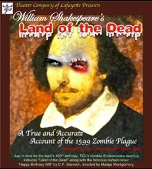 Theater Company of Lafayette Presents a Zombie-Shakespeare, 4/4-26