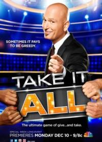 NBC to Debut Howie Mandel's TAKE IT ALL, 12/10