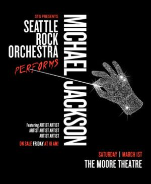 SRO Performs Michael Jackson to Play the Moore, 3/1; Tickets on Sale Today