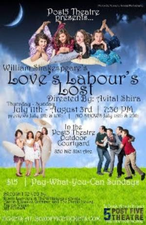 BWW Reviews: Shakespeare Goes to the Frat House in Post5 Theatre's LOVE'S LABOUR'S LOST