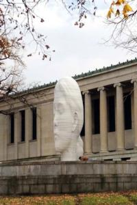 Galerie Lelong Announces Completion of Jaume Plensa's LAURA at Buffalo's Albright-Knox Art Gallery