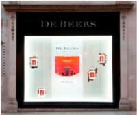 De Beers Partners with Artist Rolf Sachs for Holiday Windows