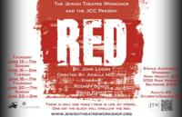 RED Opens Tonight at Jewish Theatre Workshop
