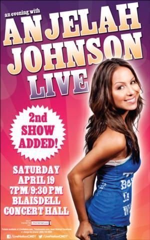 Anjelah Johnson Comes to Honolulu, 4/19