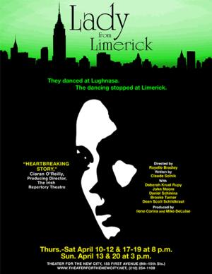 PULSE of NY and Theater for the New City to Present LADY FROM LIMERICK, 4/10-20