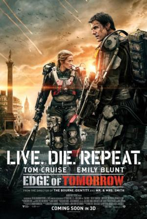 EDGE OF TOMORROW's Tom Cruise, Emily Blunt Appear in 3 Countries Today