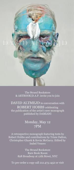 The Strand Bookstore Presents David Altmejd in Conversation with Robert Hobbs, Tonight
