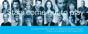 New Stars to Take the Stage in Melbourne Theatre Company's 2014 Season