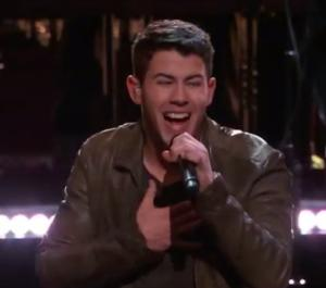Nick Jonas Performs Hit Single 'Chains' on NBC's THE VOICE Tonight