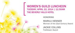 The Women's Guild Cedars-Sinai Honors Marilu Henner and Jackie Collins at Their Annual Spring Luncheon