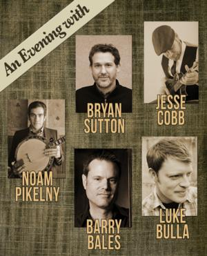 CAPA to Host An Evening of Bluegrass with Pikelny, Sutton, Bulla, Bales, & Cobb, 10/22