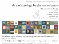 Archipelago Books Benefit Auction to Now be Held at Poets House, 11/29
