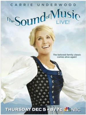 Carrie Underwood on SOUND OF MUSIC: 'I Knew I Had the Furthest to Go'