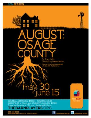 BWW Review:  AUGUST:  OSAGE COUNTY, the Best Dramatic Play in Kansas City