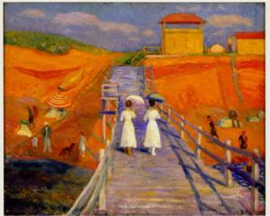 Parrish Art Museum to Present Traveling Exhibit WILLIAM GLACKENS, 7/20-10/13