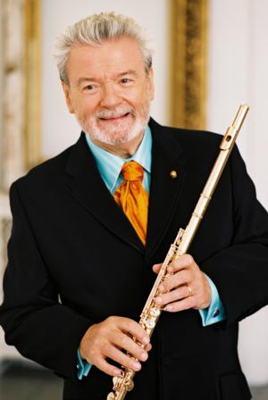 Irish Chamber Orchestra to Welcome Flute Virtuoso Sir James Galway at UConn, 10/27