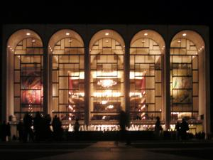 Metropolitan Opera House Vandalized with Spray Paint