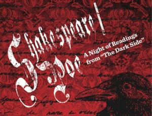 DelShakes to Present SHAKESPEARE / POE 2013, 10/18-27