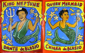 Dante and Chiara de Blasio to Serve as King Neptune, Queen Mermaid of Mermaid Parade at Coney Island, 6/21