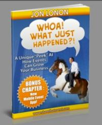 Jon Lonon Releases eBook, WHOA! WHAT JUST HAPPENED?!