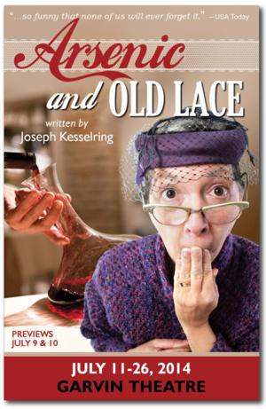 Theatre Group at SBCC Presents ARSENIC AND OLD LACE, Now thru 7/26