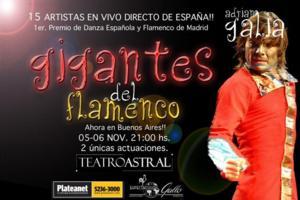 FLAMENCO GIANTS to Play Teatro Astral, Nov 5-6