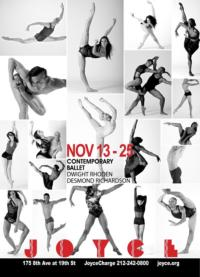 Complexions Contemporary Ballet Returns to The Joyce Theater, Now thru 11/25