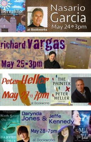 This Week at Bookworks Includes Nasario Garcia, Darynda Jones & Jeffe Kennedy and More