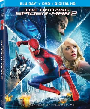 THE AMAZING SPIDER-MAN 2 Comes to Blu-ray/DVD Today