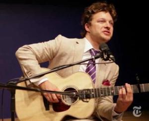In Performance Video: THE LION's Benjamin Scheuer Performs 'Cookie-Tin Banjo'