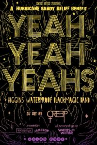Yeah Yeah Yeahs Headline Hurricane Sandy Benefit at Union Pool Tonight