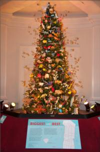 AMNH Origami Holiday Tree Lighting Set for 11/19