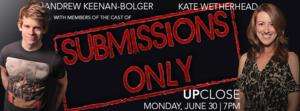 SUBMISSIONS ONLY's Andrew Keenan-Bolger, Kate Wetherhead & More Set for Drama League's UP CLOSE Series Tonight