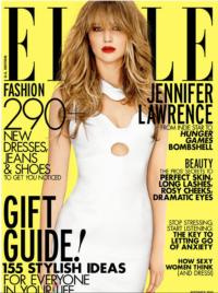 Have You Seen Jennifer Lawrence on the Cover of Elle?
