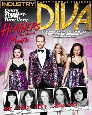 Marty Thomas Presents DIVA! to feature stars of HEATHERS THE MUSICAL, Mondays in May