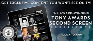 2014 Tony Awards Will Offer Second Screen Experience Online